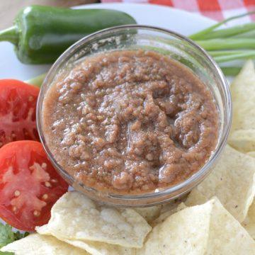 Fresh Homemade Blender Salsa | NoBiggie.net
