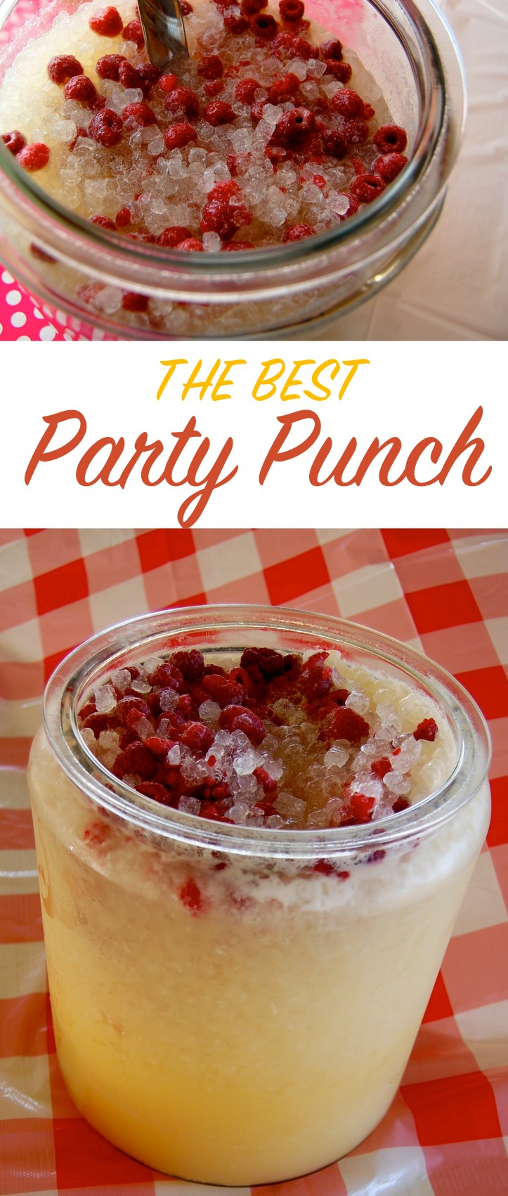 The best party punch! Great for a crowd - recipe on NoBiggie.net