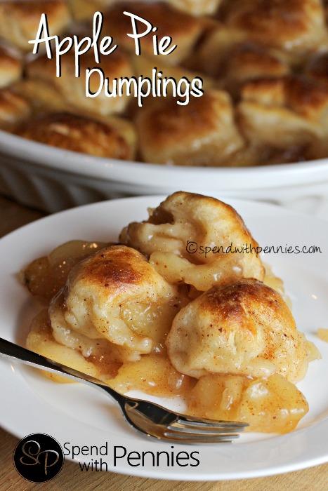 Two Ingredient Apple Pie Dumplings | 25+ Two Ingredient Recipes