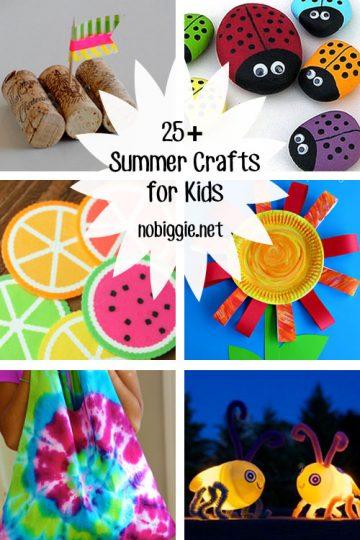 25+ Summer Crafts for Kids