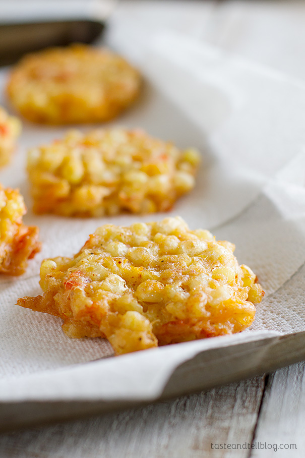 Cheddar Corn Fritters | 25+ fresh corn recipes