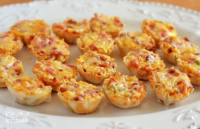 Cheesy Bacon Rotel Cups | 25+ recipes starring bacon