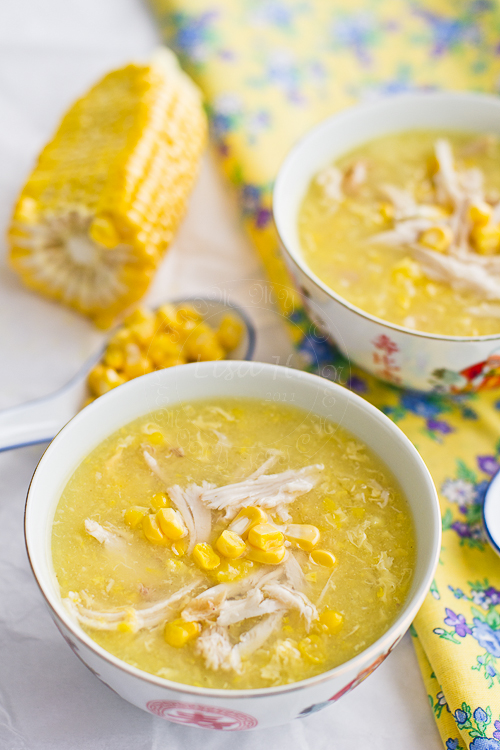 16. Chicken and Sweetcorn Soup | Lisa's Lemony Kitchen