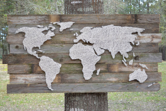 25+ DIY Map and Globe Projects | NoBiggie