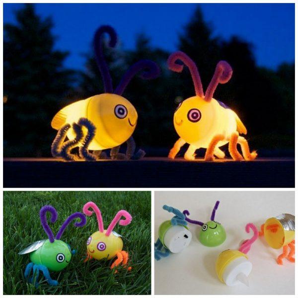 DIY fireflies   25+ Summer crafts for kids