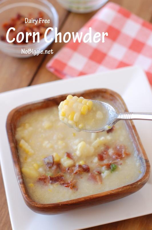 Dairy Free Corn Chowder   25+ fresh corn recipes