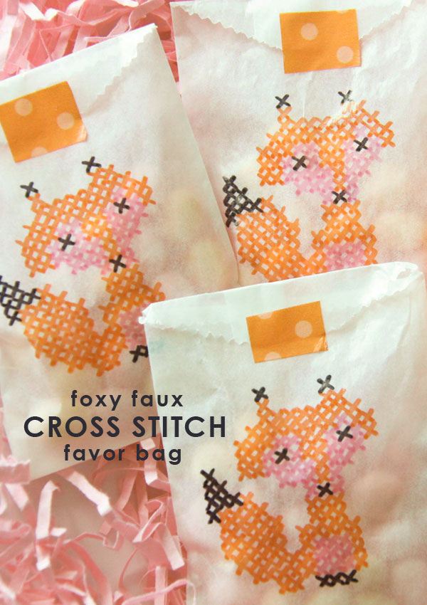 Easy Craft Projects: 14 Cross Stitch Style DIY Ideas