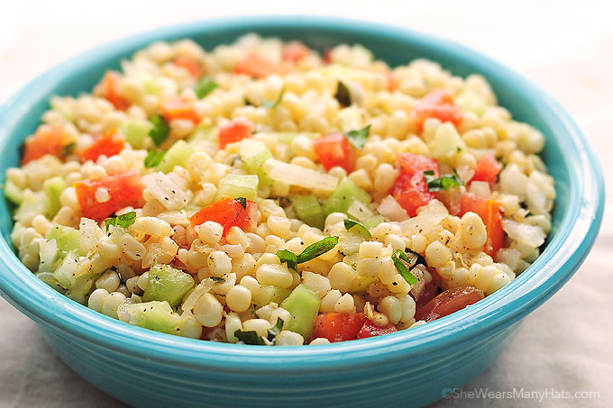 Fresh Corn Salad | 25+ fresh corn recipes