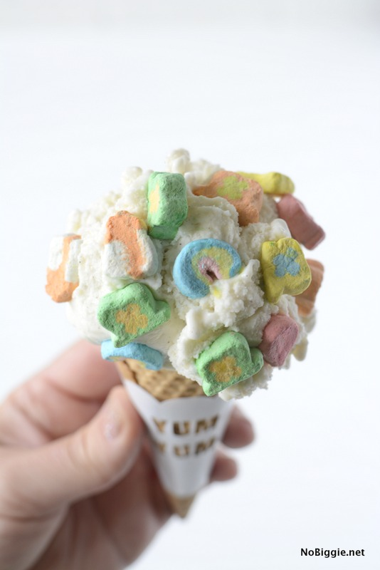 Lucky Charms Ice Cream | NoBiggie.net