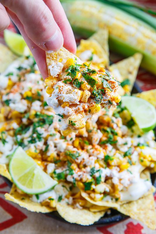 Mexican Street Corn Nachos   25+ Fresh Corn Recipes