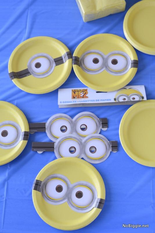 Minion Party DIY Decor Idea | NoBiggie.net & Minions Party Ideas and decor | NoBiggie