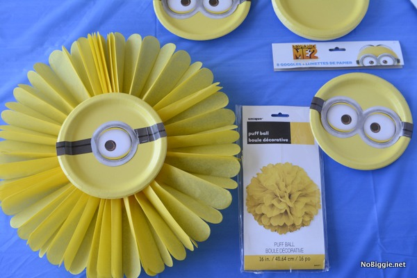Minions Party DIY Decor