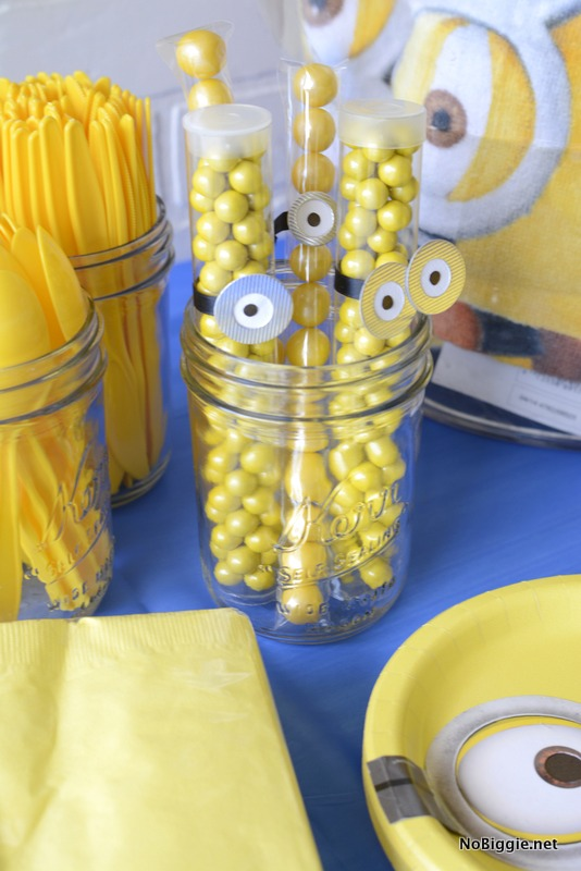 Minions Party candy