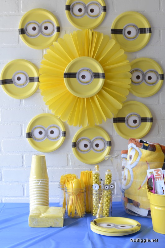 Minions Party Decor For A Movie Night Or Birthday