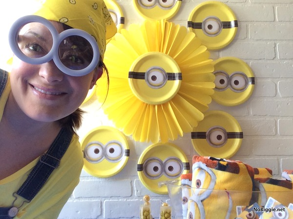 Minions Party table | NoBiggie.net