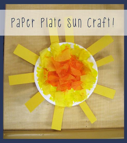 25+ Summer Crafts for Kids | Paper Plate Sun Craft