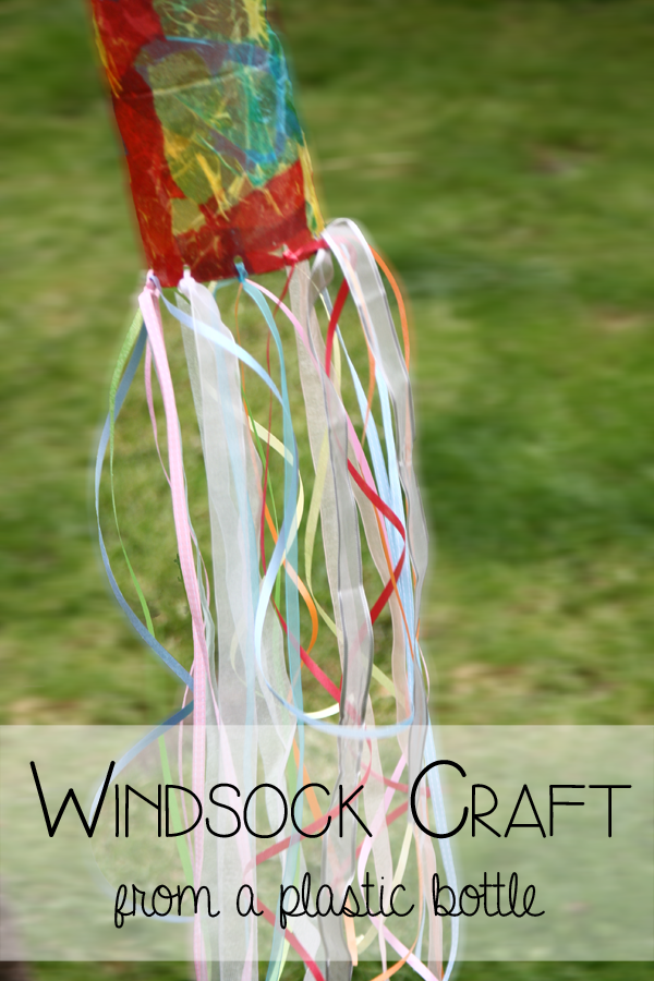 Plastic Bottle Windsock | 25+ Summer Crafts for Kids