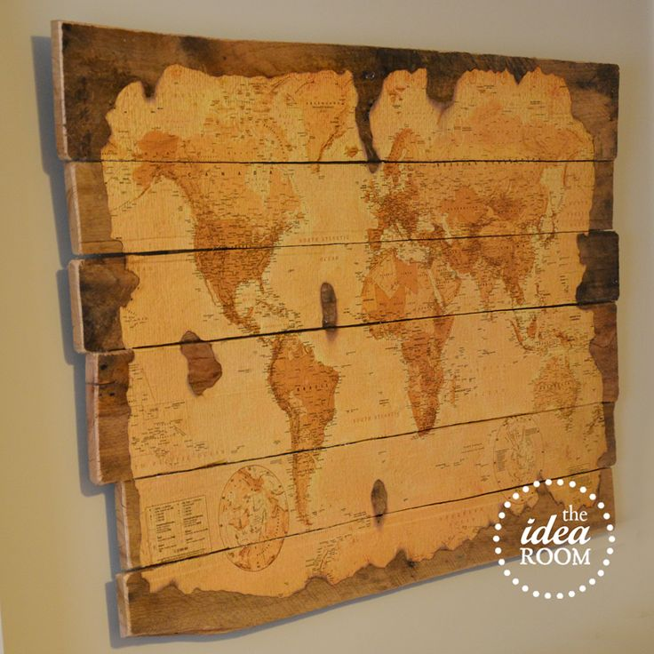 25 Diy Map And Globe Projects Nobiggie