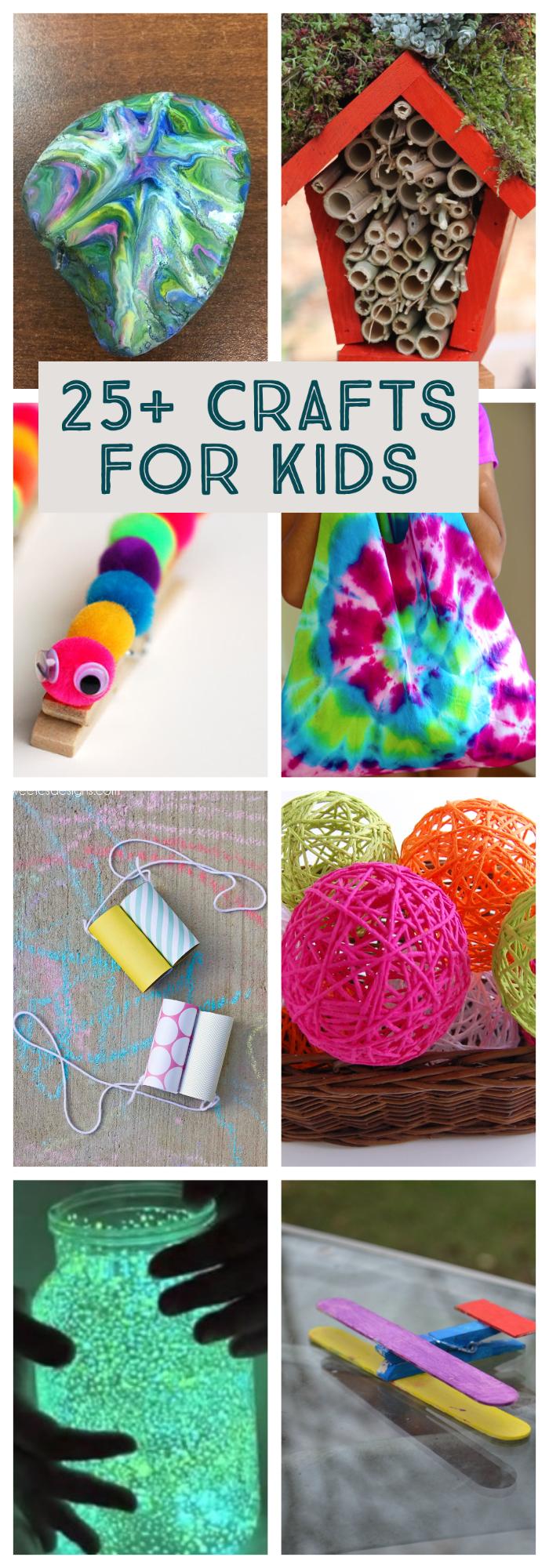 25+ Crafts for Kids   NoBiggie.net