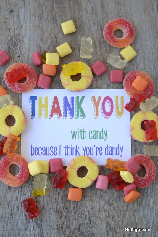 free printable thank you note in color | NoBiggie.net
