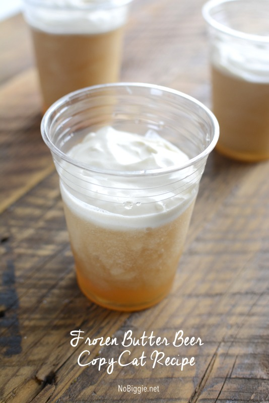 frozen butter beer recipe | NoBiggie.net
