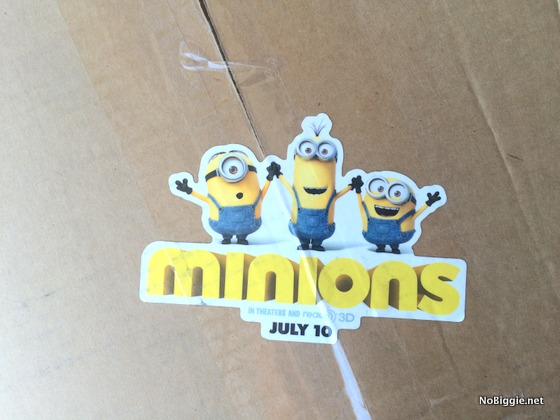 #minionsParty mail package | NoBiggie.net