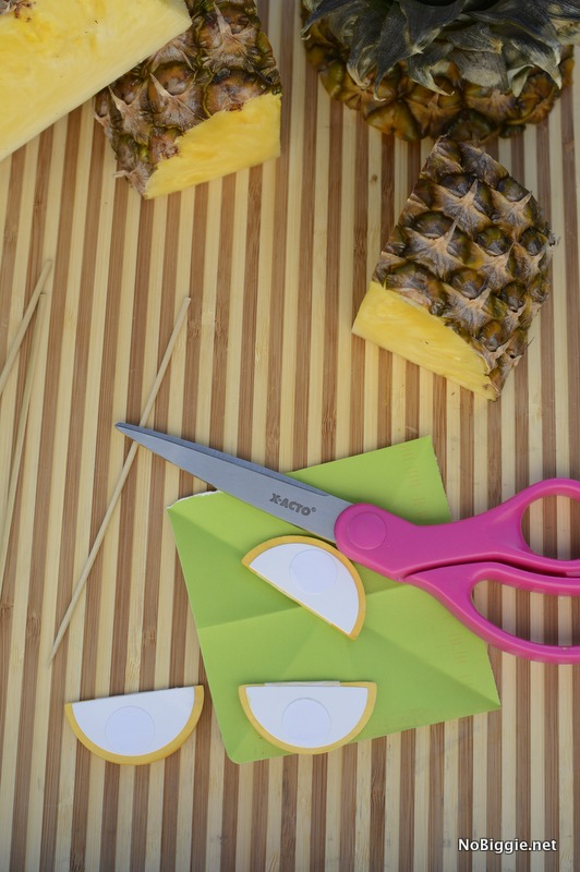 pineapple drink stirrer | NoBiggie.net