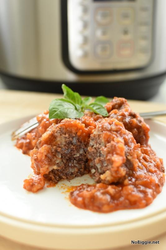 pressure cooker porcupine meatballs | NoBiggie.net