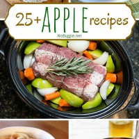 25+apple recipes - NoBiggie.net