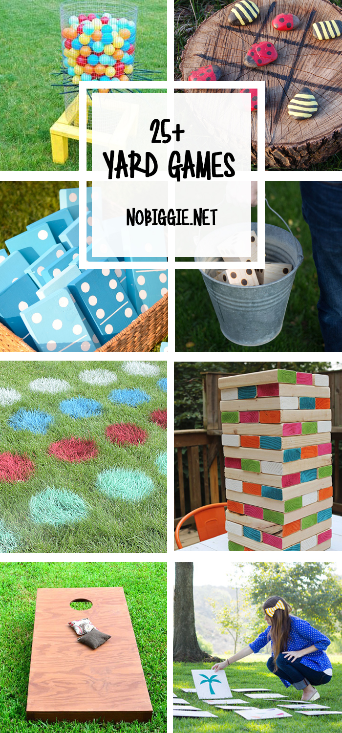 peek and pick out a yard game to play this weekend with your family