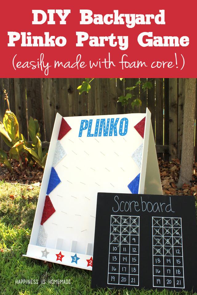 Backyard Plinko   25+ Yard Games