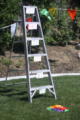 Bean Bag Ladder Toss | 25+ Yard Games