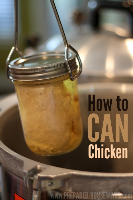 Canned Chicken | 25+ Canning Recipes
