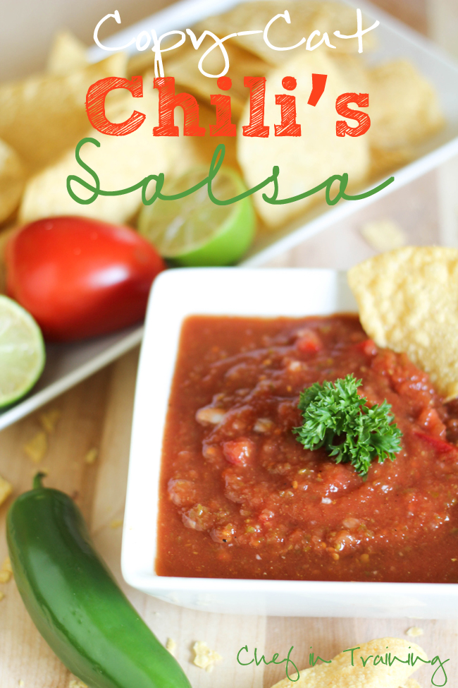 Chilis Salsa Copycat Recipe | 25+ CopyCat Restaurant Recipes
