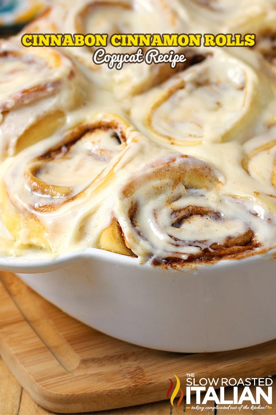Cinnabon Cinnamon Rolls Copycat Recipe | 25+ CopyCat Restaurant Recipes
