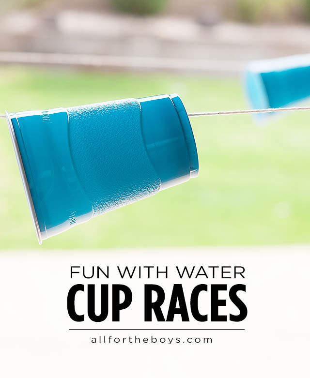 Cup Races | 25+ Yard Games
