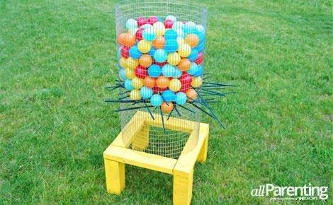 DIY Backyard Ker Plunk Game   25+ Yard Games