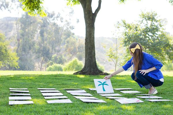 DIY GIant Lawn Matching Game | 25+ Yard Games