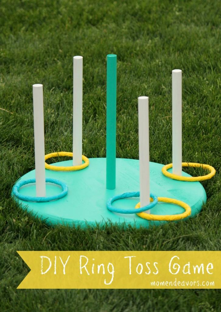 DIY Ring Toss Game   25+ Yard Games