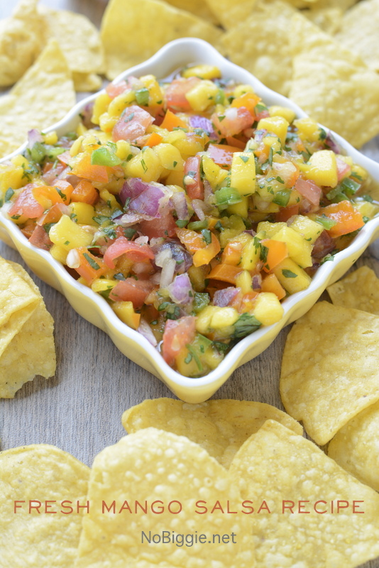 Fresh Mango Salsa | 25+ fresh tomato recipes
