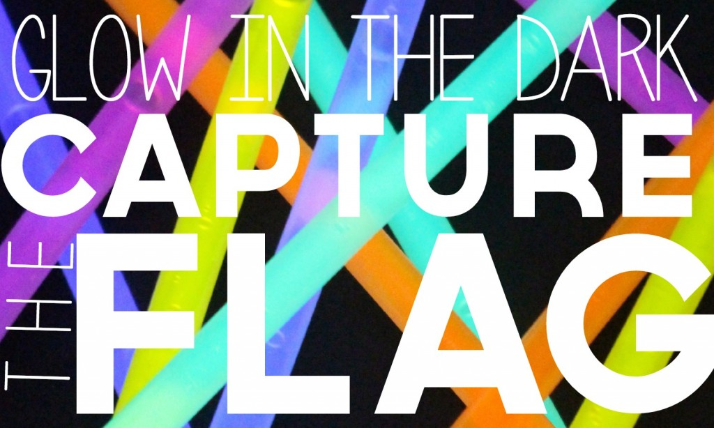 Glow in the Dark Capture the Flag | 25+ Yard Games