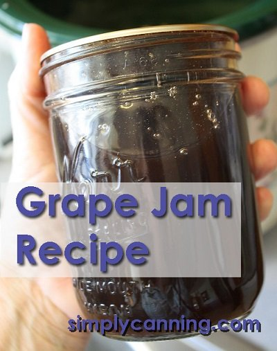 Grape Jam Canning Recipe | 25+ Canning Recipes