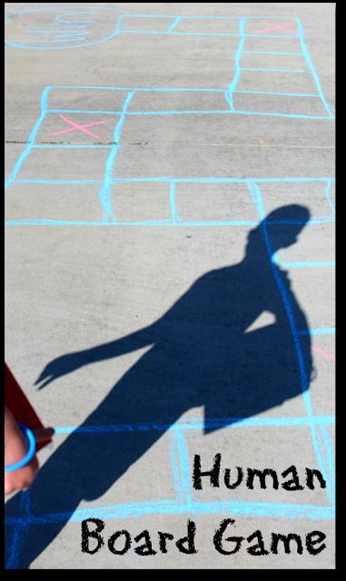 Human Board Game   25+ Yard Games