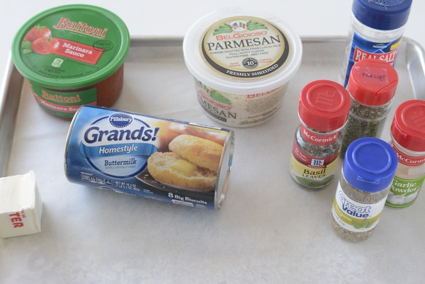 Ingredients for Parmesan Garlic Knots | NoBiggie.net