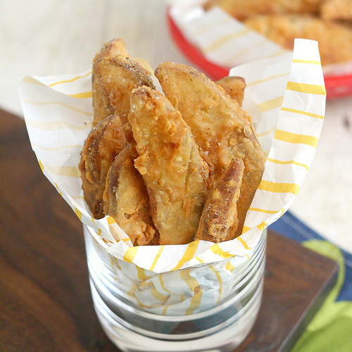 KFC Crispy Potato Wedges Copycat Recipe | 25+ CopyCat Restaurant Recipes