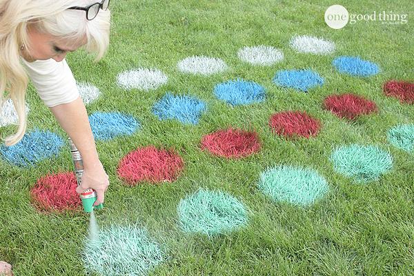 Lawn Twister   25+ Yard Games