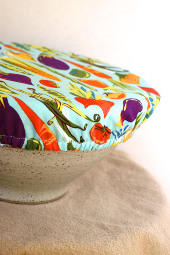 Make your own bowl cover tutorial | 25+ easy sewing projects
