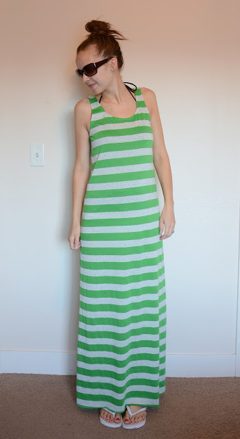 Maxi Dress | 25+ easy sewing projects
