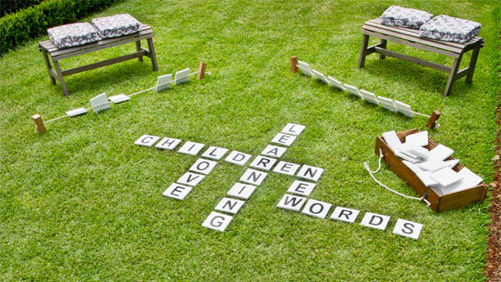 Outdoor Word Game | 25+ Yard Games