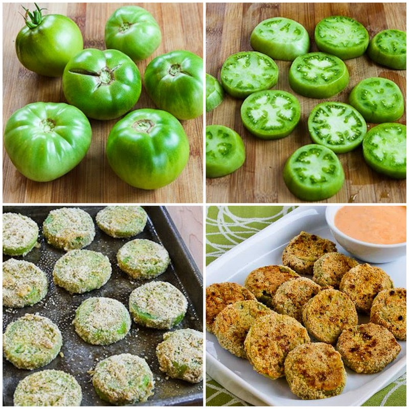 Oven Fried Green Tomatoes | 25+ Fresh Tomato Recipes